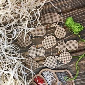 Набор заготовок для вышивания по дереву Волшебная страна FLSW-002 - 210.00грн.