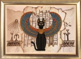 Набор для вышивки бисером Египетская кошка