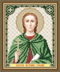 Схема вышивки бисером на авторской канве Святой Мученик Гордий Art Solo VIA5300 - 25.00грн.