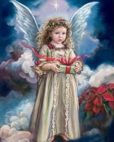 Набор для выкладки алмазной мозаикой Сюрприз от ангела Алмазная мозаика DM-159 - 640.00грн.