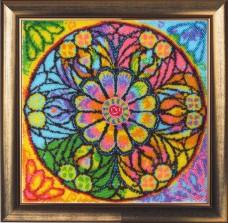 Набор для вышивки бисером Мандала Счастья Баттерфляй (Butterfly) 122Б