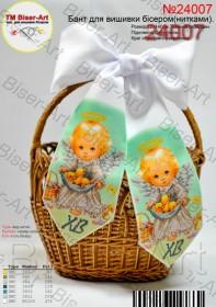 Пасхальный бант для вышивки бисером(нитками) Biser-Art В24007 - 48.00грн.