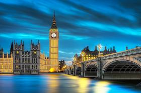 Схема для вышивки бисером на атласе Лондонская ночь