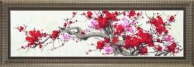 Набор для вышивания в смешанной технике Сакура, , 428.00грн., М-201, Чарiвна мить (Чаривна мить), Цветы