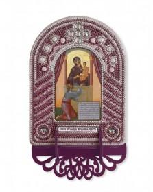 Набор для вышивки иконы с рамкой-киотом Нечаянная радость