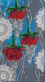 Набор для вышивания бисером Ночные цветы Абрис Арт АВ-780 - 861.00грн.