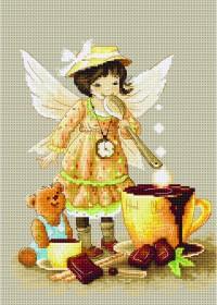 Набор для вышивки крестом Горячий шоколад Luca-S В1131 - 326.00грн.