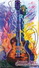 Набор для вышивки бисером на холсте Гитары звуки Абрис Арт АВ-625 - 442.00грн.