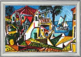 Набор для вышивки бисером Средиземноморский пейзаж (по картине П. Пикассо)