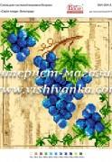 Схема для вышивки бисером на атласе Серія плоди: Виноград