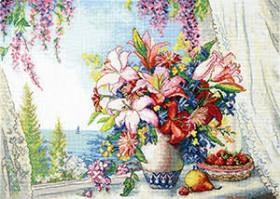 Набор для вышивки крестом Морской аромат Чарiвна мить (Чаривна мить) М-383 - 519.00грн.