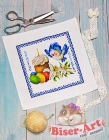 Схема дитячого пасхального рушника  Biser-Art В9506 - 65.00грн.