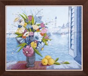 Набор для вышивки крестом Утро в Венеции