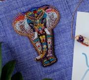 Набір для вишивання бісером прикраси Чудо Індії