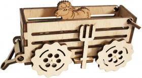 Набор деревянный конструктор Прицеп, , 46.00грн., F-004, Чарiвна мить (Чаривна мить), Деревянный конструктор
