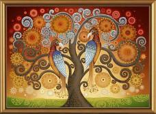 Набор для вышивки бисером Огонь любви Новая Слобода (Нова слобода) ДК1058