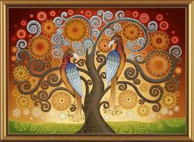 Набор для вышивки бисером Огонь любви, , 625.00грн., ДК1058, Новая Слобода (Нова слобода), Наборы с пришивными камнями