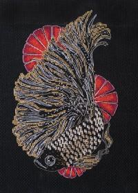 Набор для вышивки крестом Черная оранда Абрис Арт АН-129 - 270.00грн.
