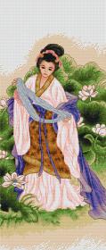 Набор для вышивки крестом Японка Luca-S В226 - 372.00грн.