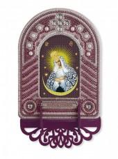 Набор для вышивки иконы с рамкой-киотом Богородица Остробрамская Новая Слобода (Нова слобода) ВК1027