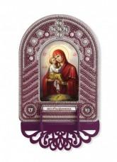 Набор для вышивки иконы с рамкой-киотом Богородица Почаевская Новая Слобода (Нова слобода) ВК1028