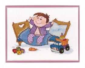 Набор для вышивки крестом Маленький разбойник Cristal Art ВТ-029 - 132.00грн.