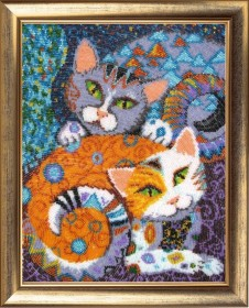 Набор для вышивки бисером Кошки Баттерфляй (Butterfly) 617Б - 567.00грн.