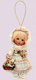 Набор для изготовления куклы из фетра для вышивки бисером Кукла. Италия. Баттерфляй (Butterfly) F048 - 57.00грн.