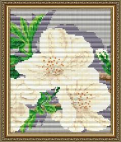 Набор для выкладки алмазной мозаикой Яблоневый цвет Триптих Часть 3, , 280.00грн., АТ5559, Art Solo, Картины из нескольких частей