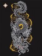 Схема для вышивки бисером на атласе Покровитель востока