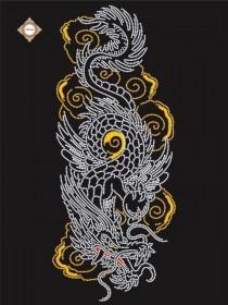 Схема для вышивки бисером на атласе Покровитель востока, , 87.00грн., СЛ-3314 , Миледи, Наборы и схемы для вышивки бисером и нитками Восток