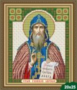 Рисунок на ткани для вышивки бисером Святой Кирилл