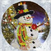 Набор для вышивки ювелирным бисером Рождественские истории 11