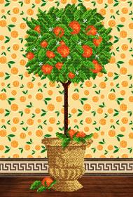 Схема для вышивки бисером на атласе Дерево счастья А-строчка АХ2-021 - 159.00грн.