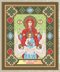 Набор для выкладки алмазной мозаикой Богородица Знамение Art Solo АТ5020 - 248.00грн.