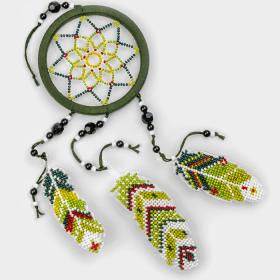 Набор для вышивания бисером на пластиковой основе Ловец снов Волшебная страна FLPL-031 - 270.00грн.