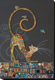 Набор для вышивки бисером Кошечка  Абрис Арт АВ-791 - 490.00грн.