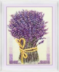 Набор для вышивки нитками Букет Лаванды, , 270.00грн., VN-049, OLANTA, Натюрморты