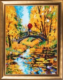 Набор для вышивки бисером Осенний мостик Баттерфляй (Butterfly) 829Б - 665.00грн.