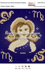 Схема для вышивки бисером на атласе Знаки зодіаку: Діва Вишиванка БА5-234А