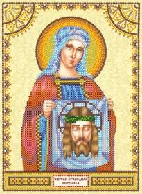 Схема для вышивки бисером на холсте Святая Вероника