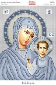 Схема для вышивки бисером на атласе Матір Божа