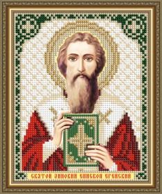 Схема вышивки бисером на авторской канве Святой Зиновий Епископ Егейский Art Solo VIA5314 - 25.00грн.