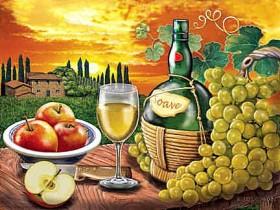 Набор для выкладки алмазной мозаикой Вино Soave DIAMONDMOSAIC DM-226 - 640.00грн.