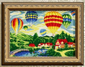 Алмазная мозаика Воздушные шары Art Solo АТ3037 - 372.00грн.