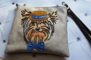 Пошитый клатч для вышивки бисером Фокусник Викки