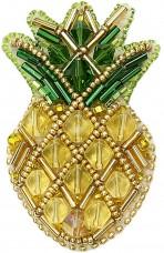 Набор для изготовления броши Ананасик Cristal Art БП-230