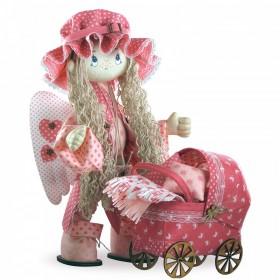 Набор для шитья куклы Ангелок, , 776.00грн., К1023, KUKLA NOVA, Наборы для шитья кукол