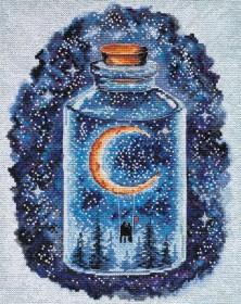 Набор для вышивки крестом Месяц для влюбленных Абрис Арт АН-095 - 392.00грн.