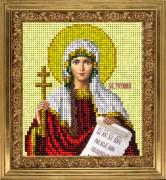 Набор для вышивки ювелирным бисером Св. Тетиана (Татьяна)